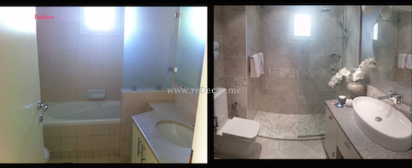 bathroom renovation Dubai interior decor and design, remodeling and design
