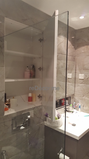 storage for bathroom, organised living, decor and design Dubai, bathroom remodelling