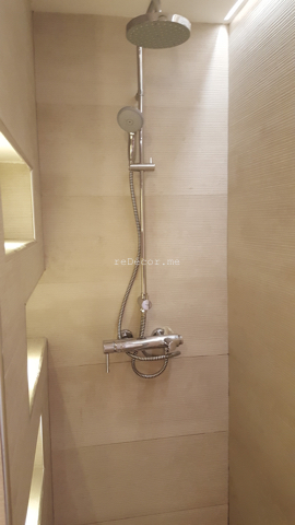 built in shower shelves, clever storage, built in laundry baskets, fit out bathrooms dubai, renovation, remodelling, design powder room motorcity, dubai, stone slabs like wood, 3D tiles, mirror light, recycle, master bathroom complete remodelling, big bathroom, walk in shower, 2 basins, mirror, brown marble counterfit out bathrooms dubai, renovation, remodelling, design powder room motorcity, dubai, stone slabs like wood, 3D tiles, mirror light, recycle, master bathroom complete remodelling, big bathroom, walk in shower, 2 basins, mirror, brown marble counter