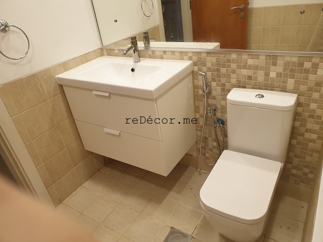 bathroom renovations, dubai old greens upgrade, fitout, dubai remodeling