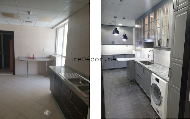 dubai marina sail fitout kitchen remodeling dubai interiors grey with black kitchen