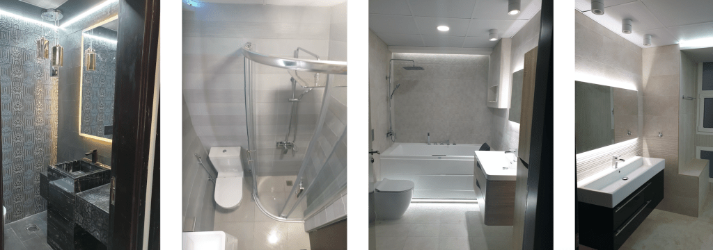 bathroom lighting, interior designer in dubai, master bathroom renovation in dubai marina, marina sail, fitout, remodelling, renovation, dubai interiors, bathroom design, led lighting bathroom, bathroom walk in shower, basin vanity, home  jacuzzi