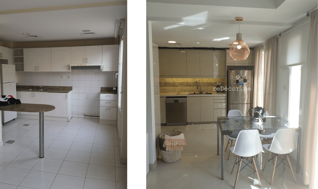 4M springs villa renovation, bathroom kitchen renovation in springs, fit out, bathroom renovations, tiling, flooring, gypsum ceiling, lighting