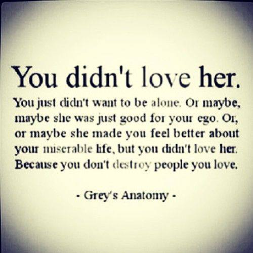 Grey's Anatomy Quote
