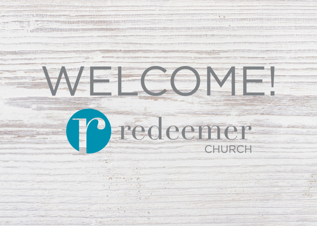 Welcome to rBlog: the newest resource from Redeemer Church