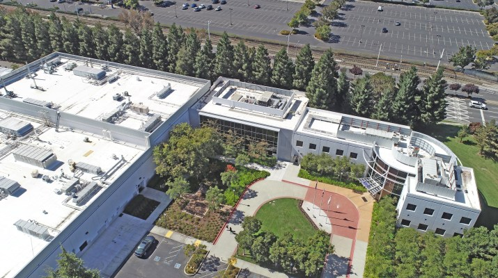 UAV Aerial Photo of 1280 MAthilda Avenue in Sunnyvale, California