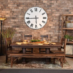 Living Room Furniture Table Rustic Cabin Decorating Ideas Redekers Dining