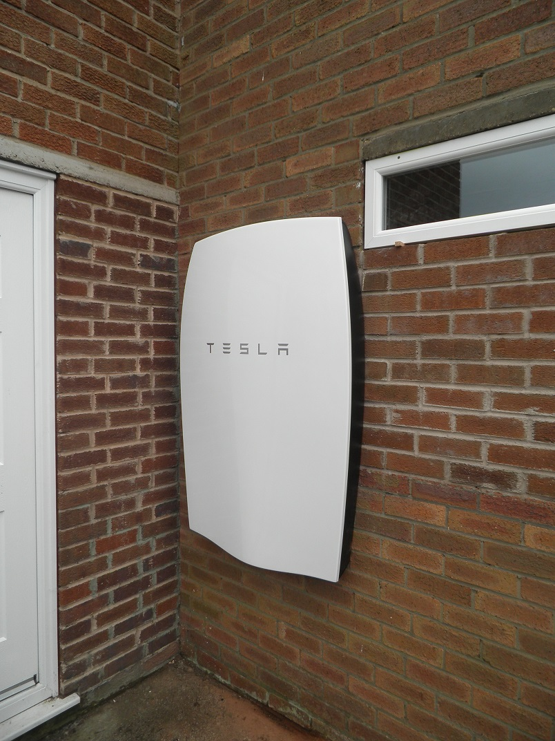 RED Electrical Tesla Powerwall Home Battery In Macclesfield