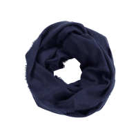 Monogram Infinity Scarf | Navy Scarves | Personalized Scarves