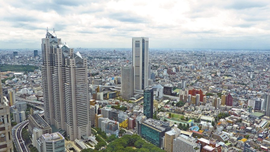 japan skyscrapers