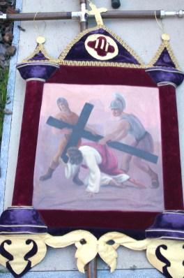 Estación del ViaCrucis de la Hermandad de Ntro Padre Jesús Nazareno de Oviedo