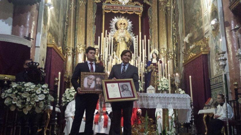 Visita a nuestros hnos de la Hermandad de la Redención de Sevilla