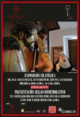 Exposición filatélica de la Cofradía de la Redención