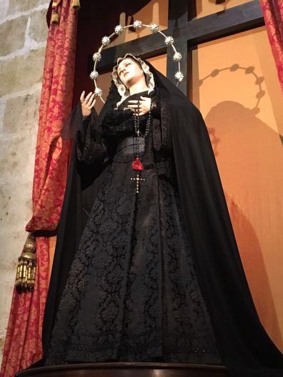 Ntra Madre de luto por nuestro Hno José Luis