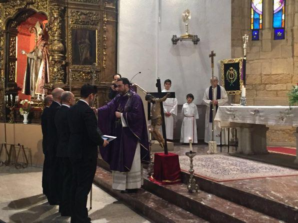Toma de posesión como Abad de NHD Vicente Cubría
