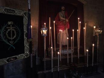 Culto en honor a Nuestro Padre Jesús de la Misericordia