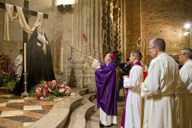 Misa conmemorativa de la bendición de Nuestra Madre de la Divina Gracia