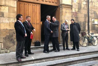 D. Juan Ignacio Aguilar tomó posesión como nuevo Abad de la Redención