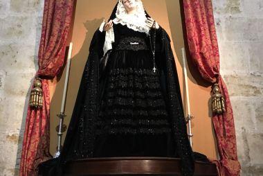 Ntra Madre permanecerá como el Domingo de Ramos toda la Semana Santa