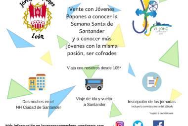 VI Encuentro de Jóvenes Cofrades en Santander
