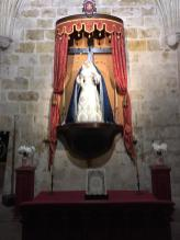 Nuestra Madre ataviada para la Inmaculada y Adviento 2018