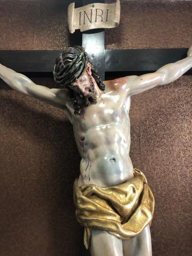 Repuesto al culto el Stmo Cristo de la Redención