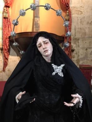 Ntra Madre de la Divina Gracia para la Pascua 2020