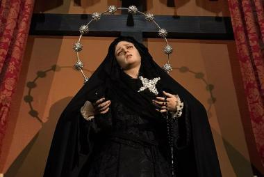 Cambio de terno de Nuestra Madre de la Divina Gracia