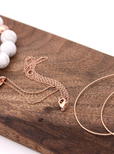 jewelry trend: rose gold