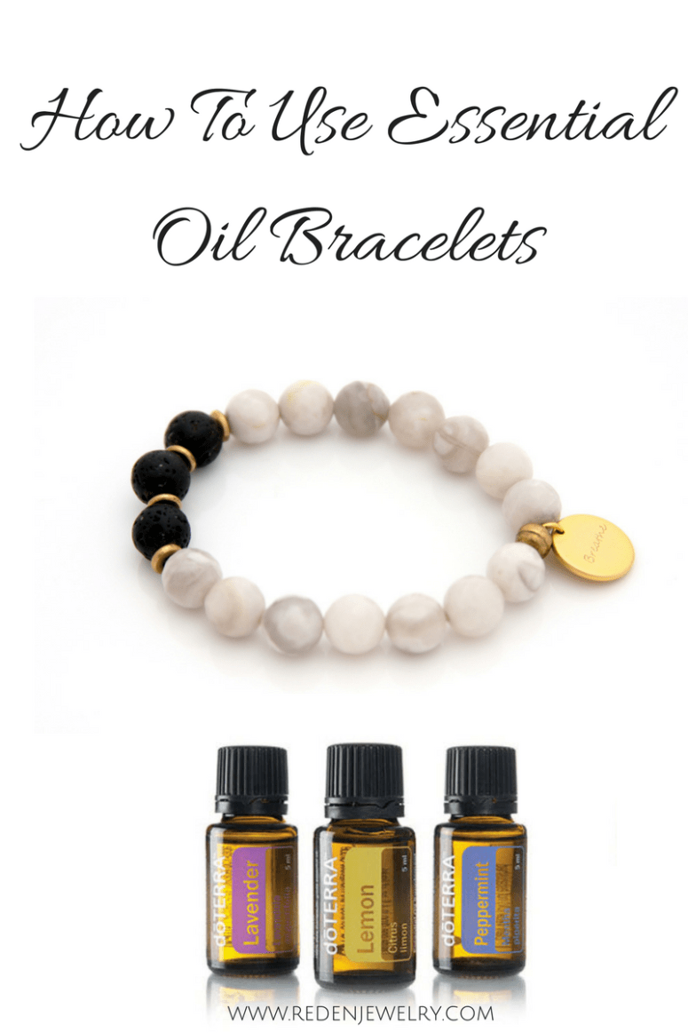 essential oil bracelets how to