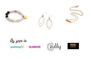 modern handmade jewelry website by Reija Eden