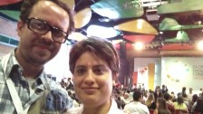 Carlos Naranjo y Eddy Mesa at Global Entrepreneurship Congress Medellin 2016