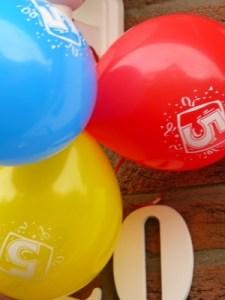 Ballons 5. Geburtstag