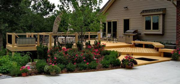decks pergolas and structures