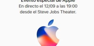 Evento Apple 12 de septiembre iPhone