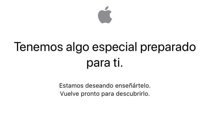 Apple Store cerrada para cambios y poder reservar el iPhoneX