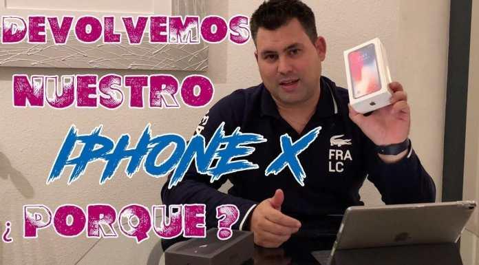 Devolvemos nuestro iPhone X