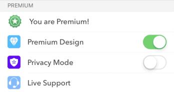 Características premium de AirMail