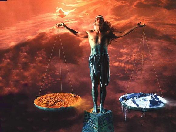 Luna en Libra y su contrapeso de Marte en Escorpio