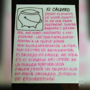 El Símbolo del Caldero.