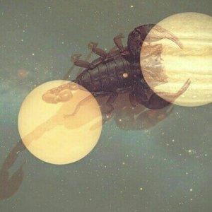 Venus y Júpiter en Escorpio.