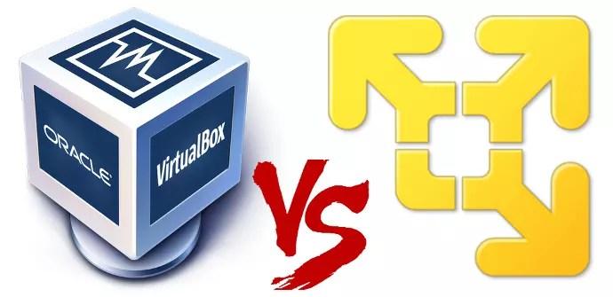Resultado de imagen para virtualbox vs vmware