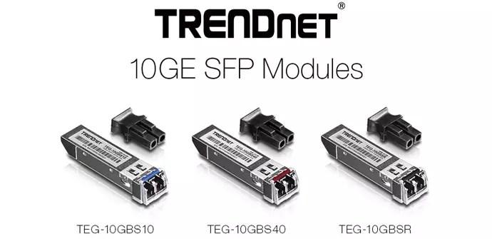 TRENDnet lanza sus primeros módulos SFP+ con 10Gbps de
