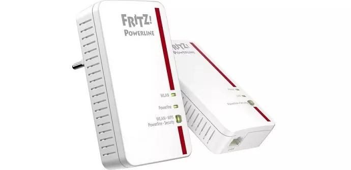 Análisis de los PLC FRITZ!Powerline 1240E con tecnología