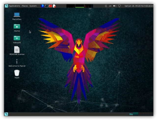 Parrot Security OS 3.5