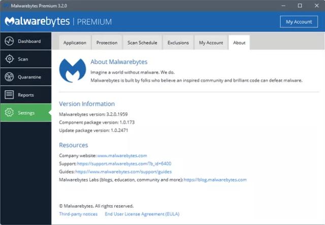 Malwarebytes 3.2 mejoría del empleo de memoria RAM