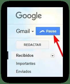 Boomerang Gmail - Pausar correos