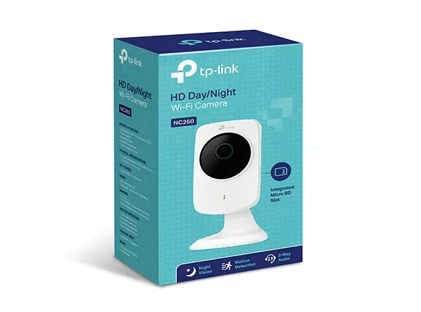 TP-Link NC260 embalaje camara IP