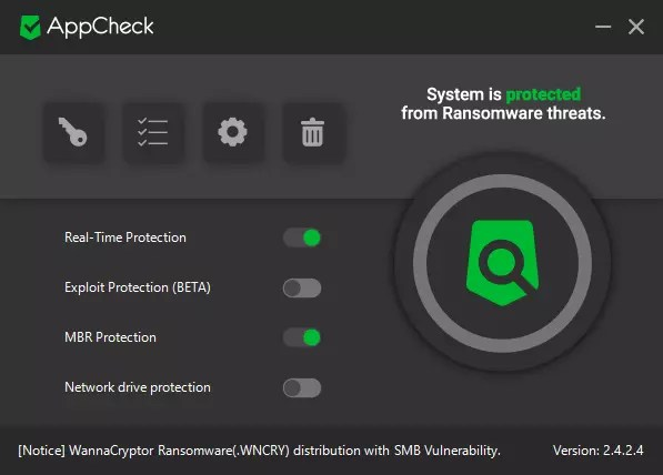 AppCheck-Anti-Ransomware