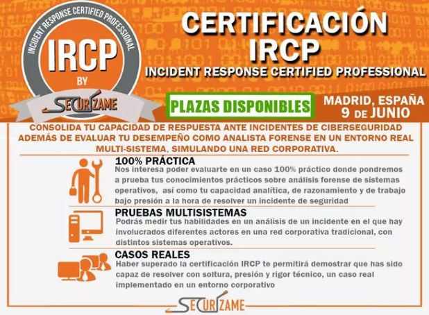 IRCP Incident Response Certified Professional